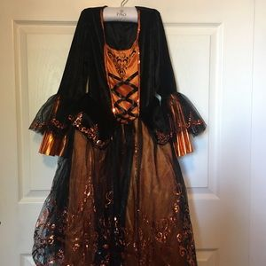 Girl's Witch Costume 3pc